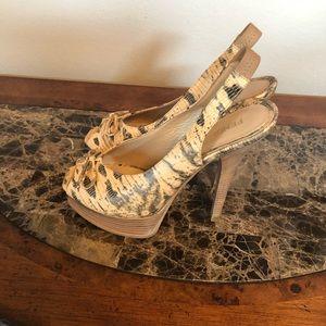Fendi snakeskin sandals